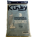 Kirby 190679S, Paper Bag, Style 1 Tradition 3Cb 3PK