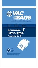 Kenmore 406732 Paper Bag, Kenmore 5055Canister Dvc 3pk