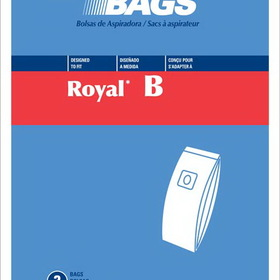 Royal 429929 Paper Bag, Royal Type BUpright Top Fill Dvc 3pk