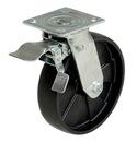 Vestil AHS-2/4-TLC stl gantry crane caster 8 x 2 total lock