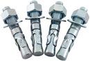 Vestil AS-344-4PK 4-pack concrete anchor bolts 3/4 x 4-1/4