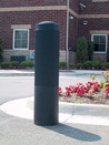 Vestil BPC-DR-B rib-black bollard cover 52 in