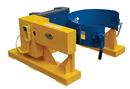 Vestil DCR-205-8-DC dc fork truck drum carrier/rotator 880lb