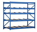 Vestil FLOW-3-4 carton rack w/gravity roll 36 in 4 lvl