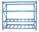 Vestil FLOW-4-3 carton rack w/gravity roll 48 in 3 lvl
