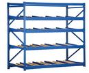 Vestil FLOW-4-5 carton rack w/gravity roll 48 in 5 lvl