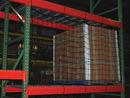 Vestil PRN-123-4 nylon pallet rack netting 123 x 48 in