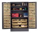 Vestil VSC-JC-137 storage cabinet-137 bins 24 x 78