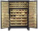 Vestil VSC-SSC-227 storage cabinet-227 bins 24 x 84