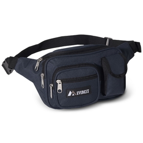 Everest 044MDH Multiple Pocket Fanny Pack