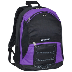 Everest 3045SH Two-Tone Backpack w/ Mesh Pockets(Images for reference)