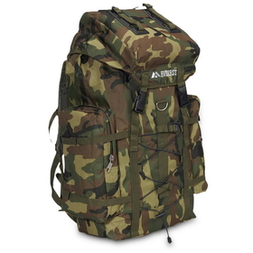 Everest Camouflage Hiking Pack