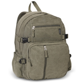 Everest CTBP-2010S Medium Canvas Backpack