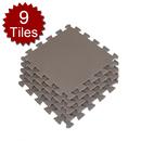 Aspire Solid Color Foam Flooring Mats 9 pcs 12