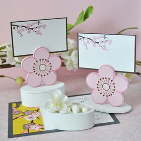 Event Blossom EB2094 Cherry Blossom Place Card Favor Boxes with Designer Place Cards (Set of 12)