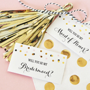 Event Blossom EB3095 Will You Be My....? Tags & Tassels (set of 6)
