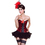 MUKA Lady Red Bumble Bee Fashion Corset Bustier Top, Gift Idea