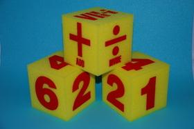 "Everrich EVAJ-0010 5"" Math Foam Dice Set of 3, Price/set"