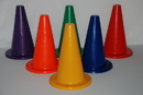 Everrich EVB-0027 Vinyl Cone - set of 6 colors, 12