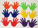 Everrich EVB-0045 Hand Print Marker - set of 6 prs in 6 colors, 7.5