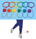 Everrich EVB-0052 Ankle Hoop Ball - set of 6 colors, 5 5/8