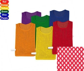 "Everrich EVC-0079 Pinnies Pack - set of 6 colors, mesh, 23"" L * 15"" W, Price/set"