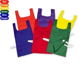 "Everrich EVC-0081 Pinnies - set of 6 colors, 21"" L x 11"" W, Velcro Closure, Price/set"