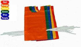 "Everrich EVC-0082 Pinnies - set of 6 colors, 22"" L x 11"" W, Cloth Ties, Price/set"