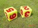 Everrich EVV-0019 Foam Dice W/ Numbers - set of 2 - 5