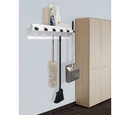 Ex-Cell Kaiser 333-6 WHT2 The Clincher Mop and Broom Holder