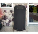 Ex-Cell Kaiser INT1531 D-6 xx DB International Collection Waste Receptacle with Matched Dome Top