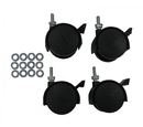Ex-Cell Kaiser RC-MTR CASTERS Set of 4 Casters