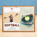 FashionCraft 12187 Stunning softball themed Frame 5 x 7