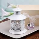 FashionCraft 4153 Fabulous White Metal Lantern Favor