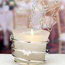 FashionCraft 4703 Butterfly-Design Candleholders / Place Card Holders