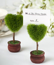 FashionCraft 5368 Unique Heart Design Topiary Place Card Holder