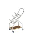 CanDo 10-0616 Iron Disc Weight - Mobile Cart