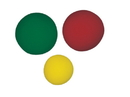 CanDo 10-0779 Cando Memory Foam Squeeze Ball - 3-Piece Set (Yellow, Red, Green)