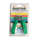 CanDo 10-1806 Cando Ergonomic Hand Grip, Green, Moderate - 12 Lbs.