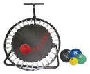 CanDo 10-3136 Adjustable Ball Rebounder - Set With Circular Rebounder, 5-Balls (1 Each 2,4,7,11,15 Lb.)