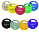 CanDo 10-3298 Cando One Handle Medicine Ball - 18 Lb - Gold