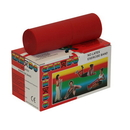 CanDo 10-5612 Cando Latex Free Exercise Band - 6 Yard Roll - Red - Light