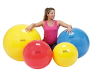 PhysioGymnic 30-1700 Physiogymnic Inflatable Exercise Ball - Yellow - 18 Inch (45 Cm)