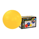 CanDo 30-1801B Cando Inflatable Exercise Ball - Yellow - 18 Inch (45 Cm), Retail Box