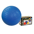 CanDo 30-1805B Cando Inflatable Exercise Ball - Blue - 34 Inch (85 Cm), Retail Box