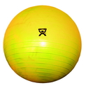 CanDo 30-1851 Cando Inflatable Exercise Ball - Extra Thick - Yellow - 18 Inch (45 Cm)