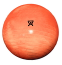 CanDo 30-1852B Cando Inflatable Exercise Ball - Extra Thick - Orange - 22 Inch (55 Cm), Retail Box