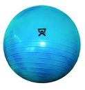 CanDo 30-1855B Cando Inflatable Exercise Ball - Extra Thick - Blue - 34 Inch (85 Cm), Retail Box