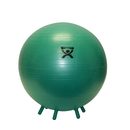 CanDo 30-1893 Cando Inflatable Exercise Ball - With Stability Feet - Green - 26 Inch (65 Cm)