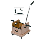 Baseline 55-1032 Fce Work Device - Mobile Weighted Cart With Straight Handle And Accessory Box